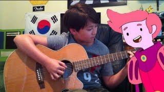 Oh Fionna / Fionna and Prince Gumball's song - Adventure Time - Fingerstyle Guitar - Andrew Foy