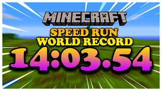 I tricked the Internet with a FAKE Minecraft Speedrun World Record