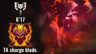 MHWorld: Arch Tempered Teostra - Charge Blade Solo 6