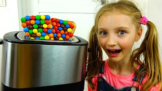 Video sobre dulces y regalos interesantes. Nuevos videos de Polina.
