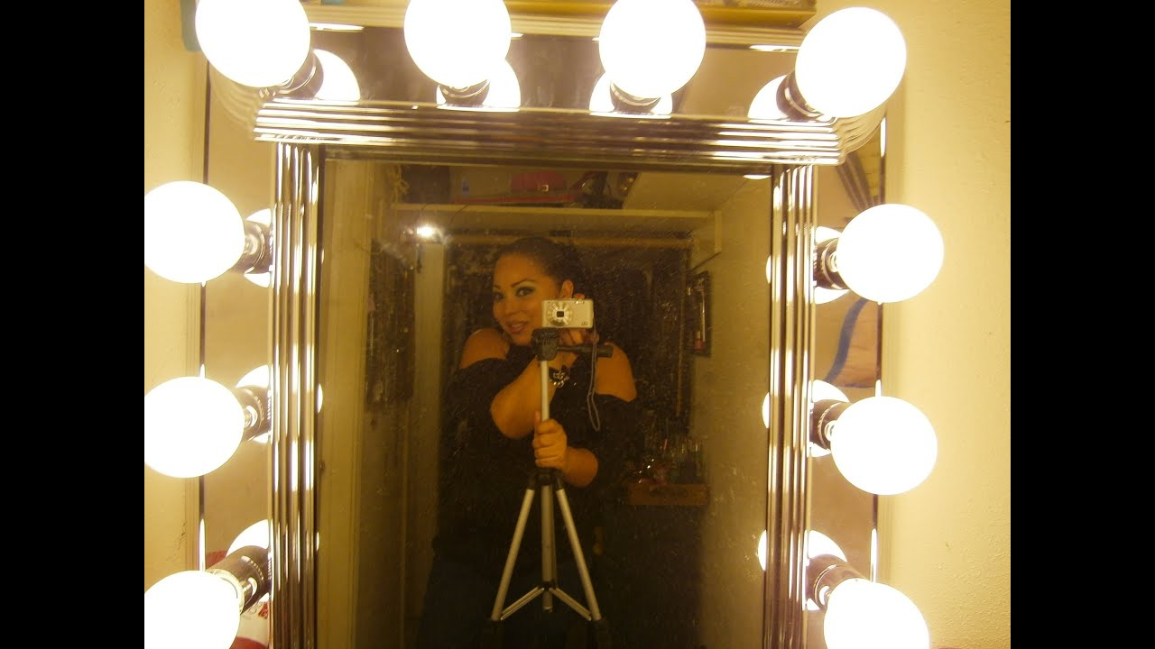 Como hacer un tocador estilo hollywood vanity youtube - Luces de camerino ...