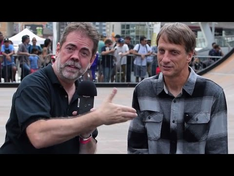 Jay Mandarino interviews Tony Hawk (Toronto, 2016)