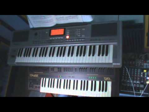 Haunted Shores (Cradle of Filth keyboard cover)
