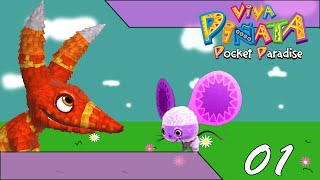 Let's Play Viva Pinata Pocket Paradise pt1; We get our own garden