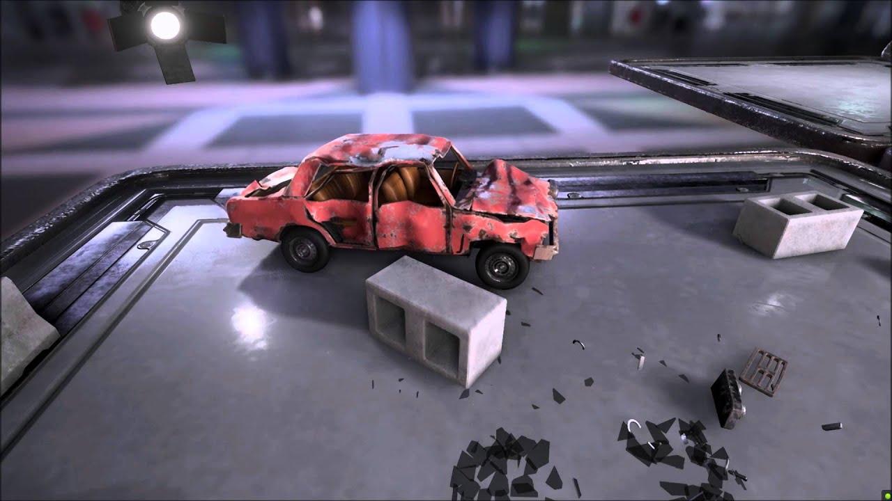 Creating Procedurally Destructible Car in UE4
