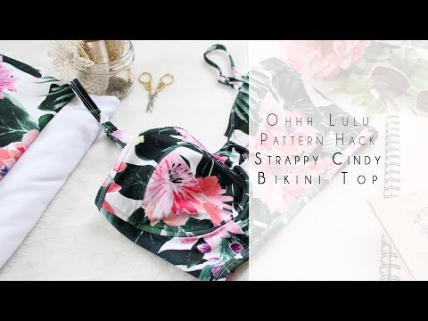 How to Sew a Strappy Cindy Bikini Top with Underwire