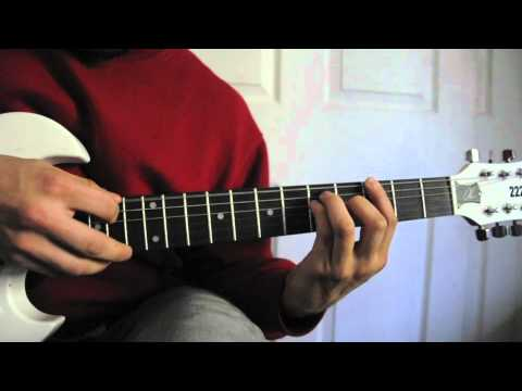 How to- Creep by Radio Head guitar lesson easy beginner song
