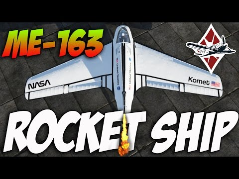 War Thunder ME-163 ROCKETSHIP! This Is Why I Love This Game!!