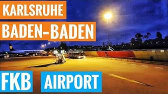 Landing at FKB Airport | Karlsruhe Baden-Baden airpark Flughafen