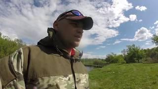 Весеняя рыбалка на спининг с берега