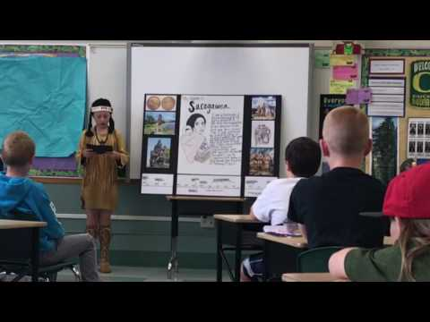 SACAGAWEA | 4th GRADE SPEECH