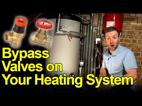 Bypass Valves On S Plan And Y Plan Heating Systems Short