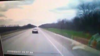 Серьезное ДТП на автодороге Армавир - Лабинск 17.03.16