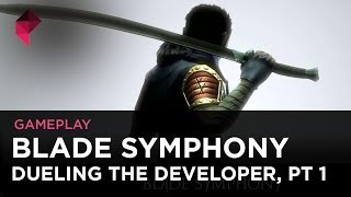 Blade Symphony gameplay - What sound does a successful Kickstarter make? (Part 1)
