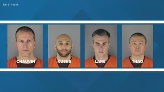 Chauvin charges elevated in Floyd's death, 3 other officers charged