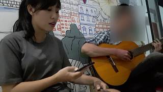 Chiều nay không có mưa bay guitar cover ft. Trang Vân