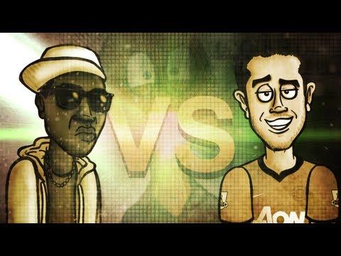 Robin Van Persie VS KSIOlajidebt -- Football Rap Battles #4