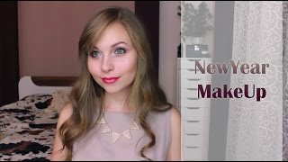 Новогодний макияж / New Year Make-up ❤ Розовые оттенки