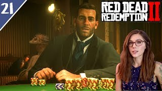 Garden Party, Chief Rains Fall & The Gambling Man | Red Dead Redemption 2 Pt. 21| Marz Plays