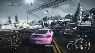 Need For Speed: Rivals - Maximum Heat Level 10 Run & Escape - Porsche Cayman S - PC Gameplay