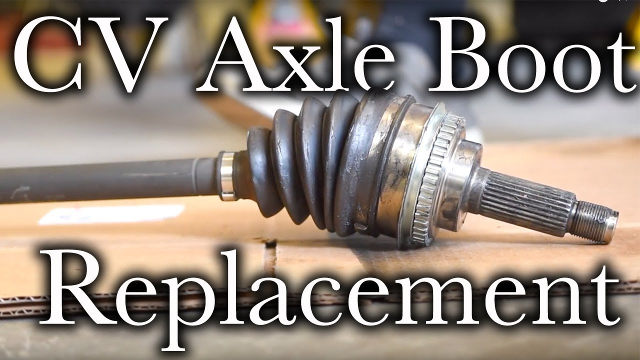 Easy CV Axle Boot Replacement