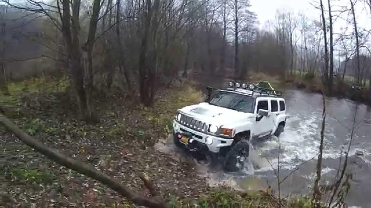 Lifted Hummer H3 On 35 Tires Kumho Kl71 Youtube