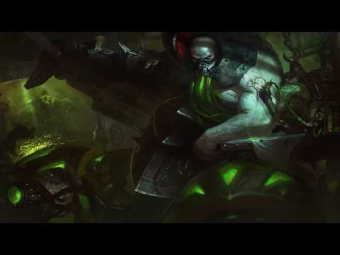 Urgot Login Screen Animation Theme Intro Music Song【1 HOUR】