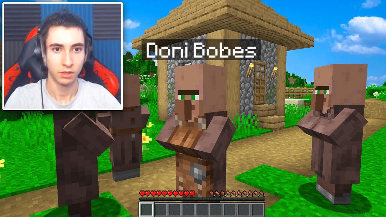 I used a MORPH MOD to troll Streamers in Minecraft Hide Seek