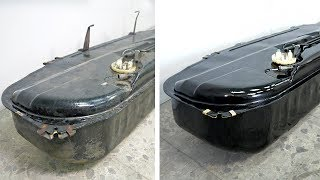 BMW E30 Gas Tank Restoration
