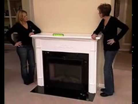 How To Makeover Your Home Using A Fireplace Mantel And Electric Fireplace Pbs Part 3 Youtube