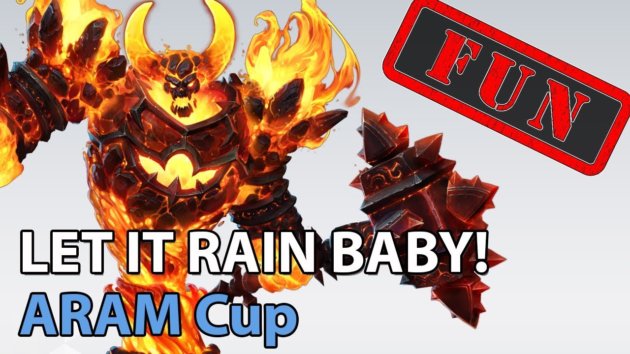 ► ARAM Cup - LET IT RAIN BABY! - Heroes of the Storm Brawl