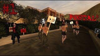 CROSS IDEALNY! (Poniedziałek)   #1 Postal 2 [Let's Play PL]   Asasyn08 x Pan Szatan