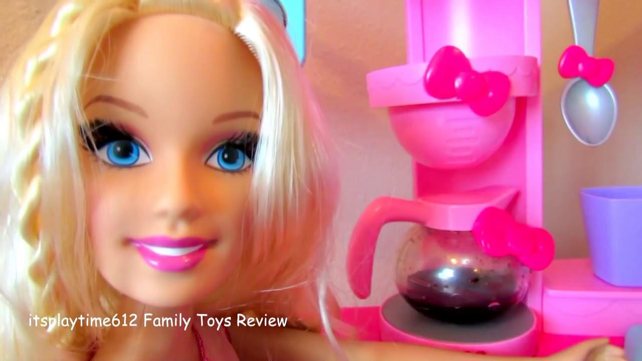 Hello Kitty Kitchen Cafe Playset Surprise Toys 2017