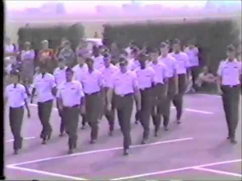 USAF Clinic Drill team Aviano AB Italy 1984