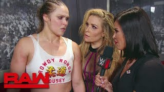 Ronda Rousey fumes following all-out assault on her ribs: Raw, Sept. 10, 2018