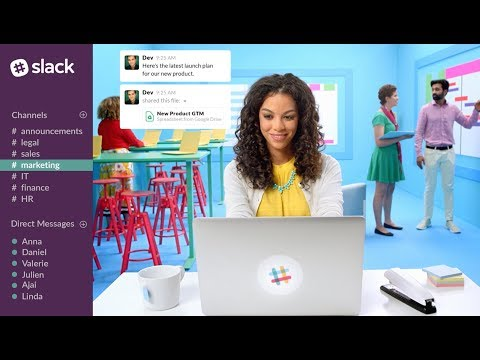 Slack | The Collaboration Hub for Work