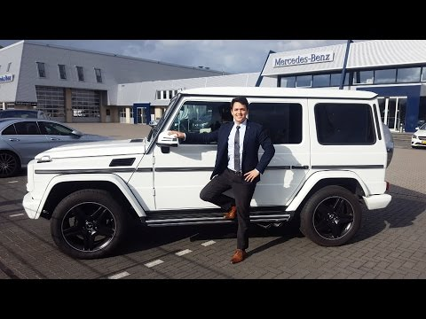 2017 Mercedes G Class $200,000 Impossible to Park? G350 Test Review G Wagon AMG Drive