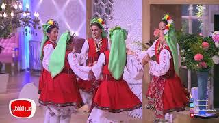 معكم منى الشاذلى | شاهد ابداع رقص الفلكلور من مهرجان الاسماعيليه الي استديو معكم مني الشاذلي
