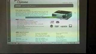 Optoma EX330 DLP Projector Rev…