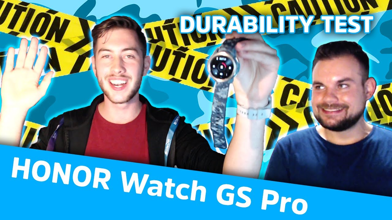 HONOR Watch GS Pro Durability Test!