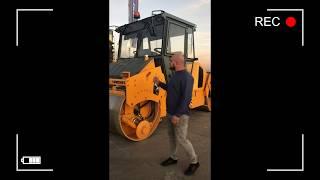 Транзит-Дон Ӏ Обзор дорожного катка - РАСКАТ RV 11 DD