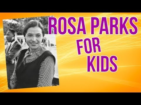 Rosa Parks for Kids  Biography