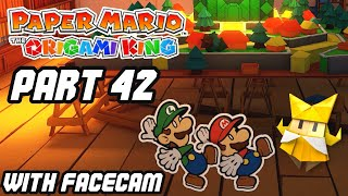 PAPER MARIO THE ORIGAMI KING (PART 42) OLIVIA'S HOUSE (WITH FACECAM)