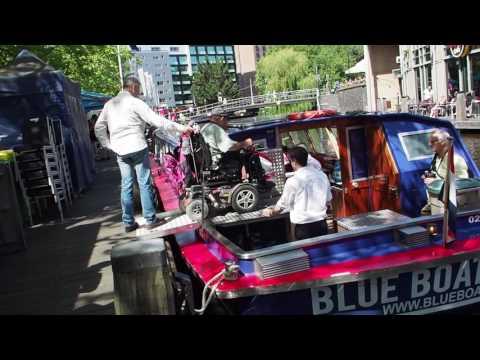 2017-06-01 Rondvaart in Amsterdam met mindervaliden
