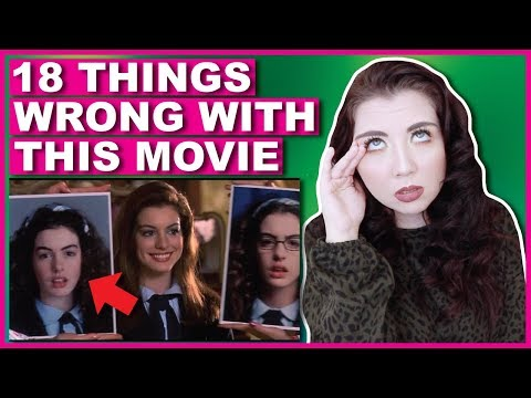 18 Things WRONG With The Princess Diaries