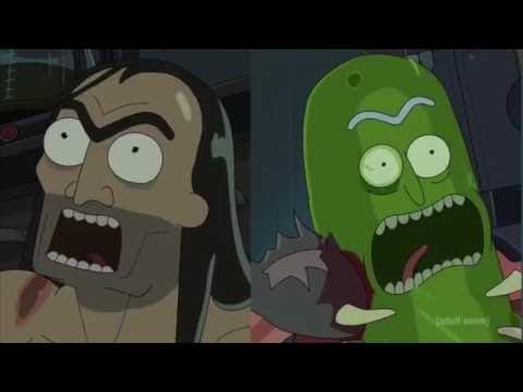 Rick And Morty Season 3 Pickle Rick Vs Jaguar Youtube