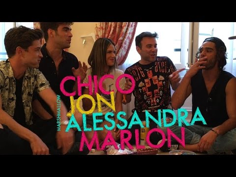 Desafio do Marshmallow com Alessandra, Chico, Jon e Marlon | #HotelMazzafera