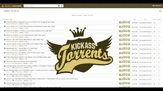 How to download free any torrent from kickass torrents [Without account]