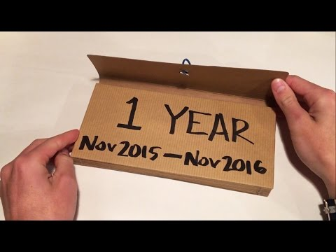 Diy one year dating anniversary gifts for him