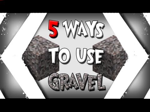 Minecraft: 5 Ways to Use Gravel